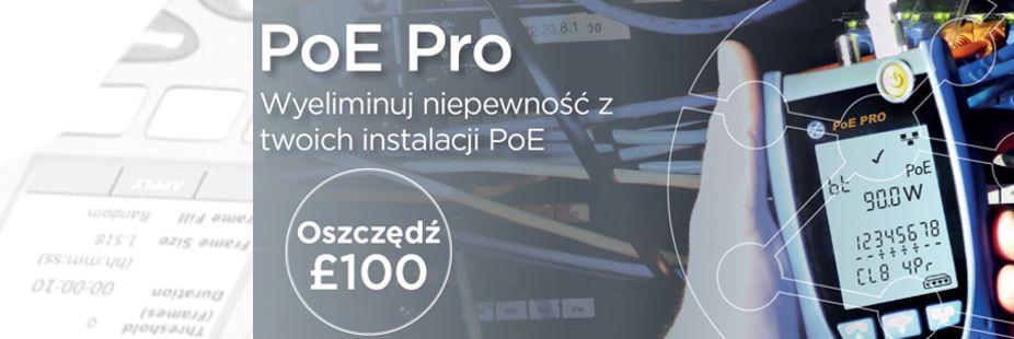 Nowy tester PoE PRO